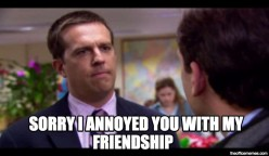 Image result for andy bernard meme